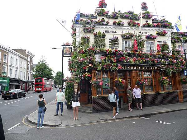 The Churchill Arms, Notting Hill.