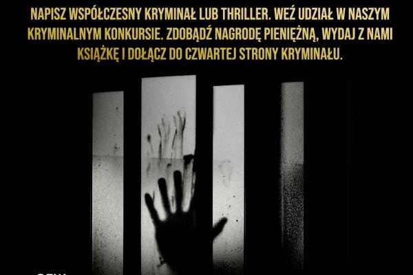 Konkurs na powieść z Czwartą Stroną Kryminału